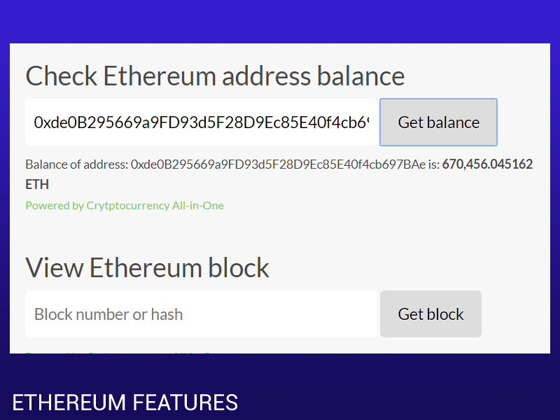 Ethereum Node Support and DAPP for WordPress