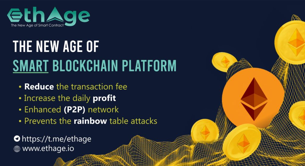 ETHAGE - The New Age Of Ethereum AI Blockchain Smart Matrix Contract Platform
